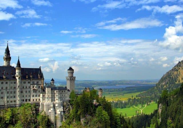 Castelo Neuschwanstein em Baviera
