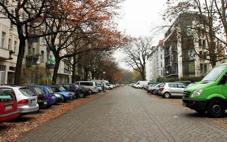 Bairro Charlottenburg em Berlim