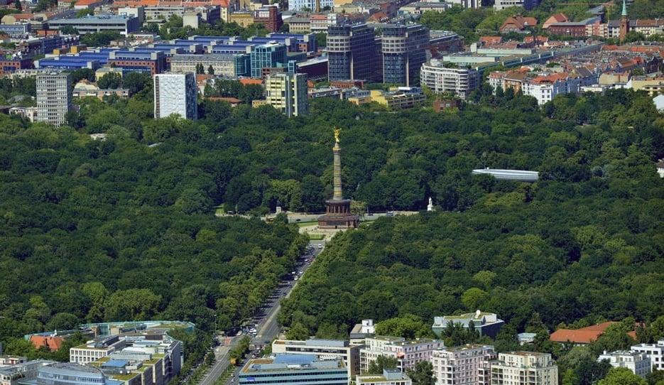 Bairro Tiergarten em Berlim