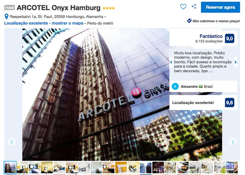 Hotel ARCOTEL Onyx Hamburg em Hamburgo