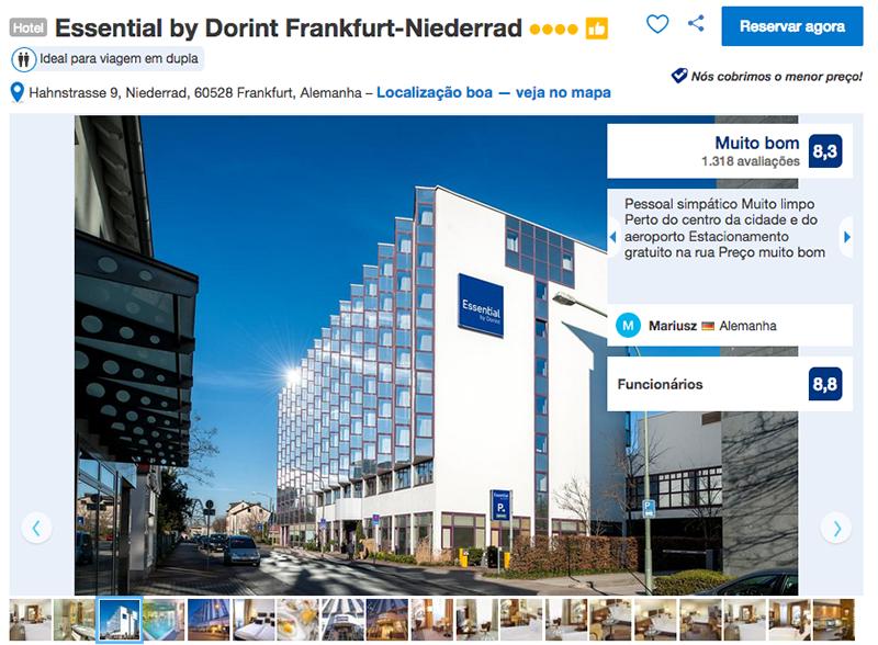 Hotel Essential by Dorint em Frankfurt