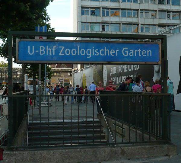Estação de metrô do Jardim Zoológico em Berlim