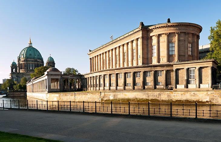 Antiga Galeria Nacional em Berlim