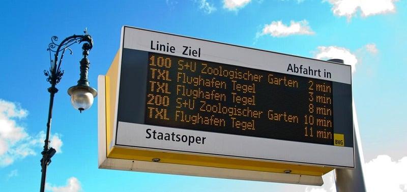 Sinalizações do transporte em Berlim