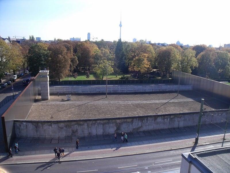 Memorial do Muro de Berlim em Berlim