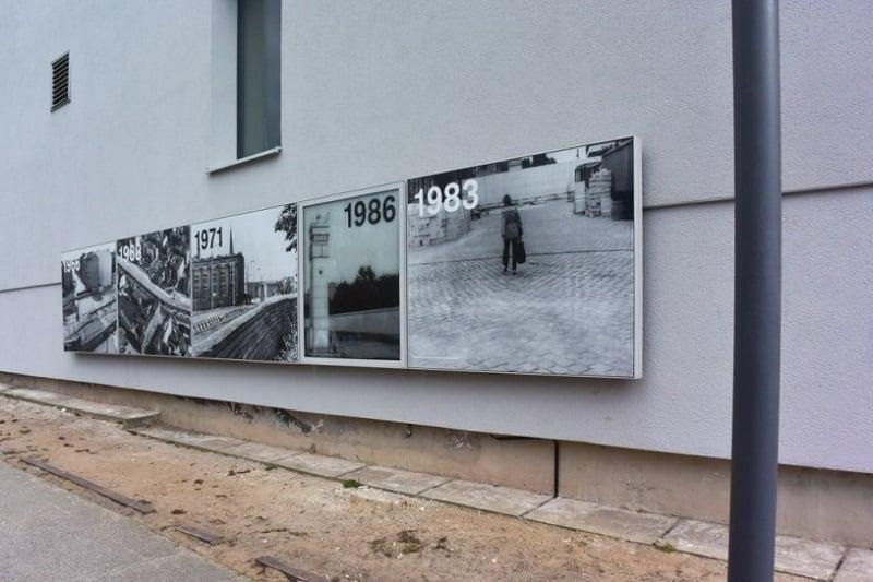 Fotografias no Memorial do Muro de Berlim