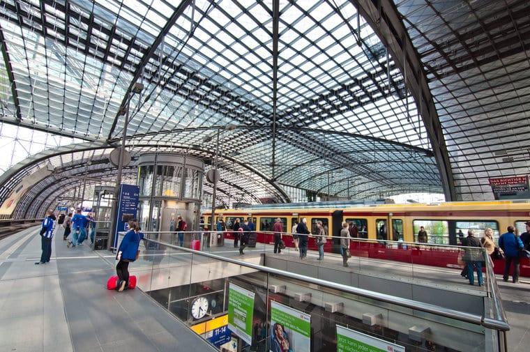 Hauptbahnhof Station em Berlim