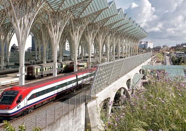 Viagem de trem de Berlim a Lisboa