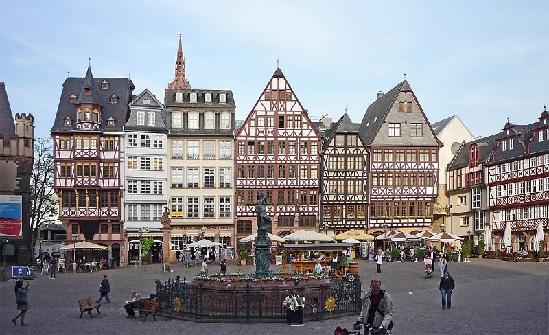 Römerberg em Frankfurt