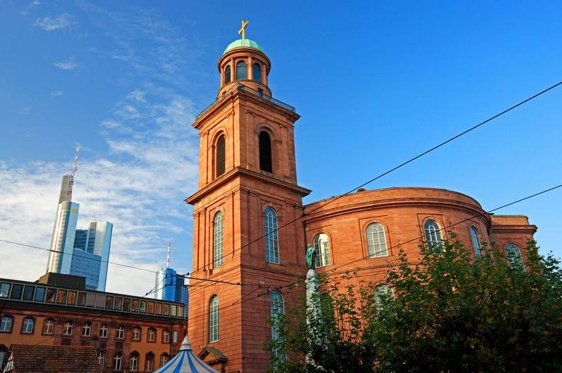 Paulslkirche em Frankfurt