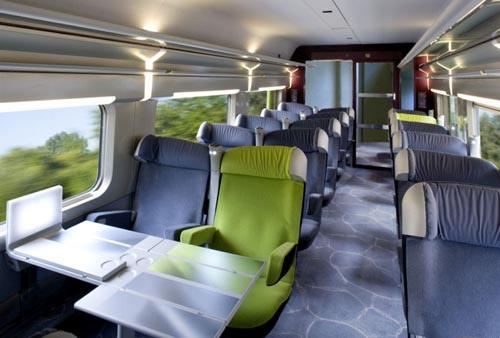 Trem até Frankfurt