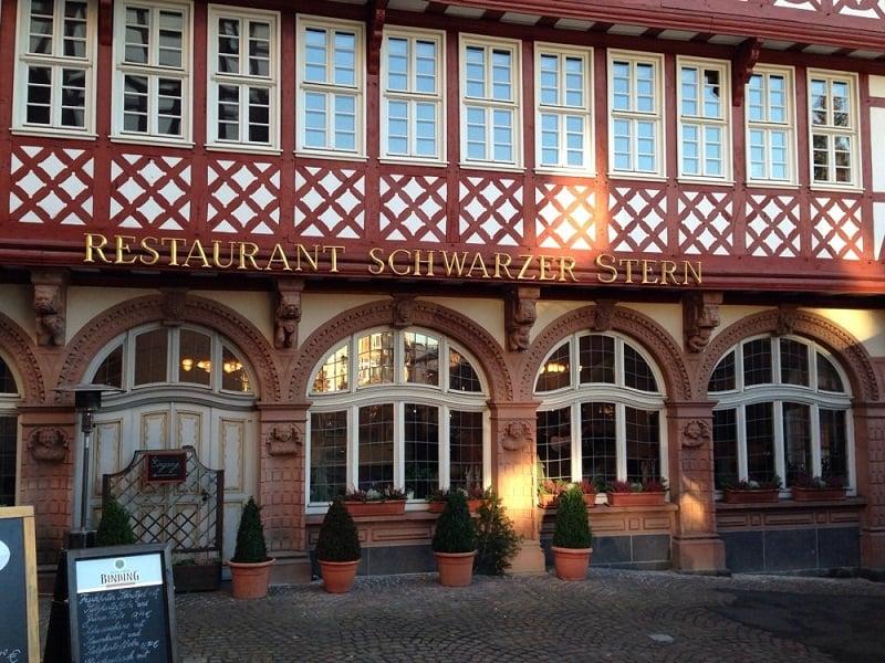 Restaurante Schwarzer Stern em Frankfurt