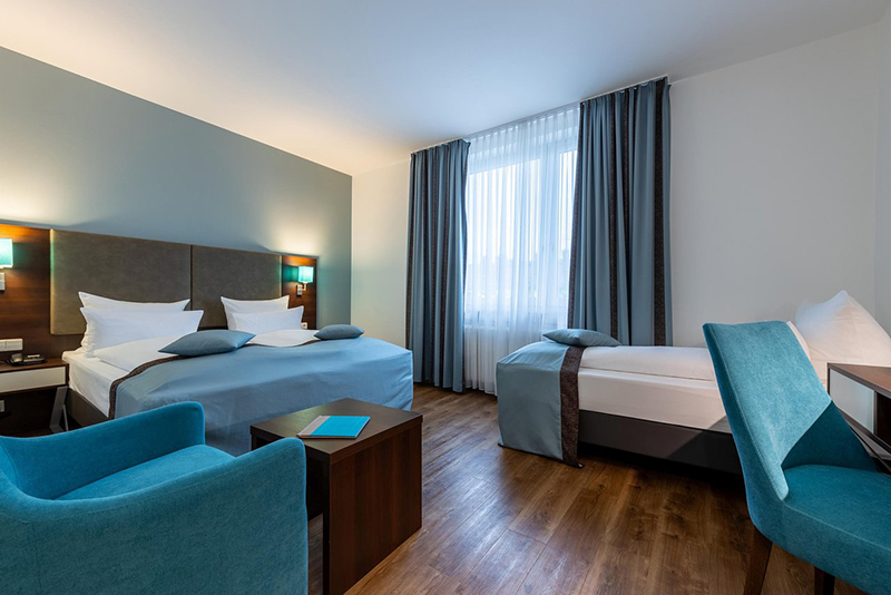 Suíte do Trip Inn Hotel Messe Westend em Frankfurt