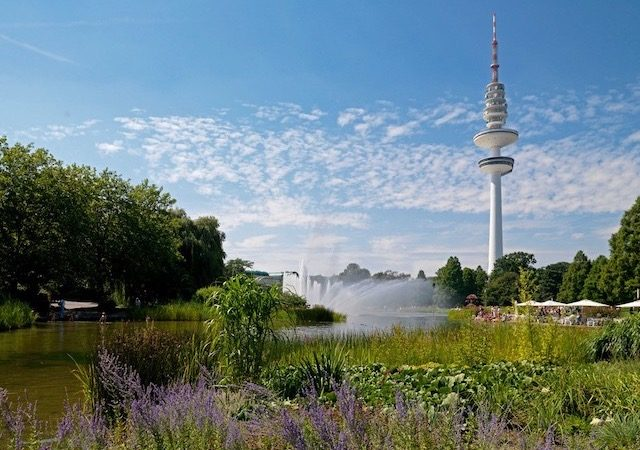 Planten un Blomen em Hamburgo