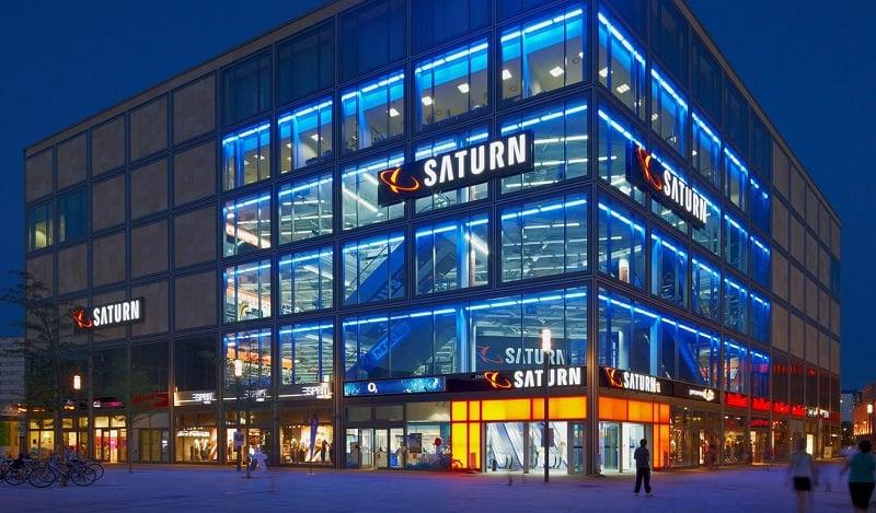 Loja Saturn em Berlim