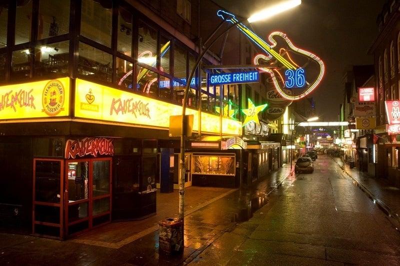 Bar em Hamburgo na Alemanha