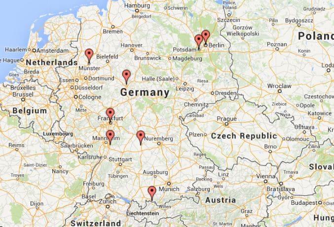 Roteiros de carro pela Alemanha