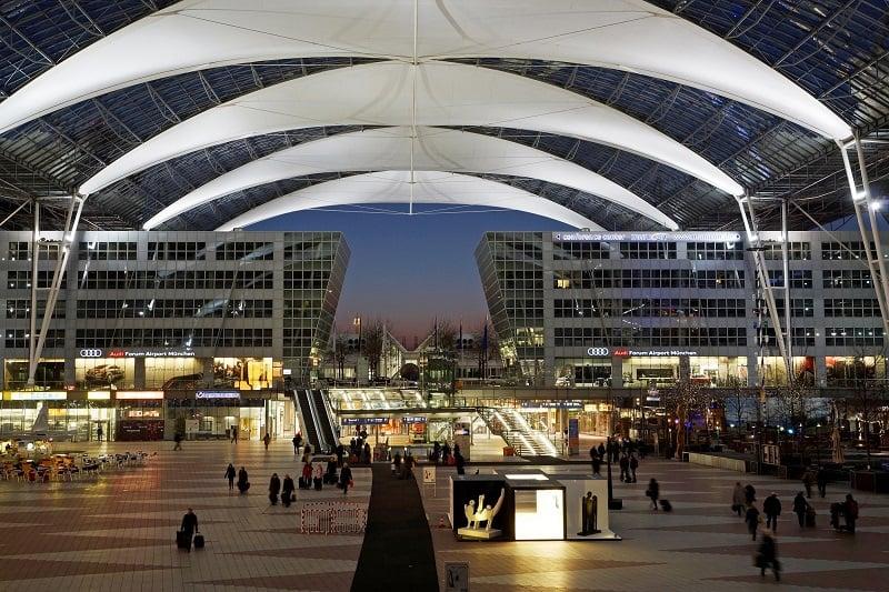 Aluguel de carro no aeroporto de Munique