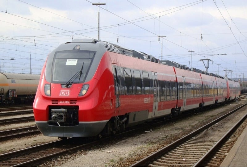 De trem de Berlim a Hamburgo