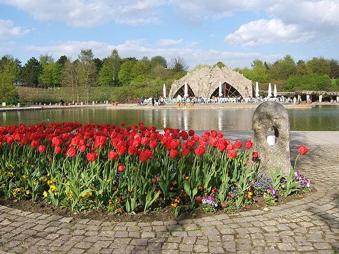 Festival de tulipas em Berlim