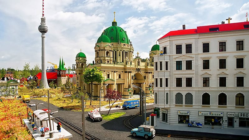 Parque da Lego na Alemanha – Legoland Deutschland