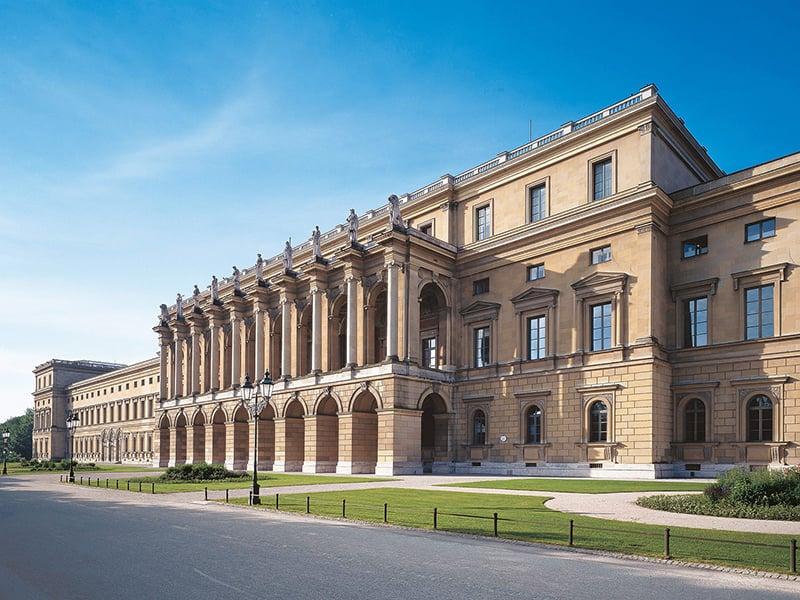 Palácio Residenz em Munique na Alemanha