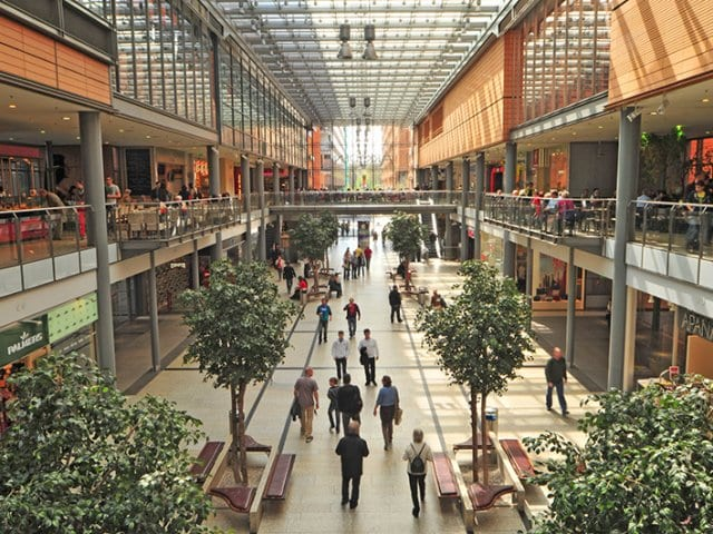 Shoppings em Berlim