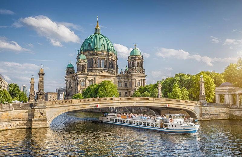 Catedral de Berlim em uma tarde de setembro