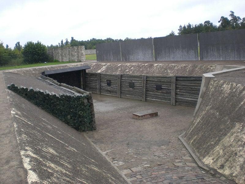 Casas de execução do campo de concentração Sachsenhausen