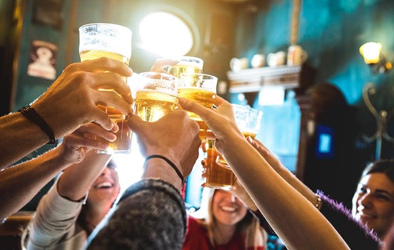 Pub crawl em Colônia