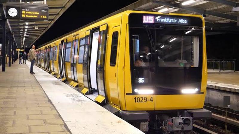 Metrô em Berlim