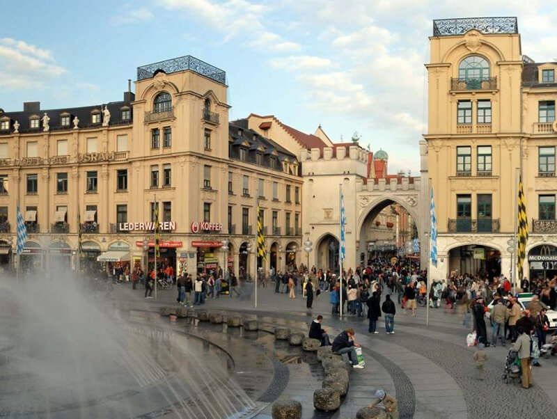 Karlsplatz em Munique