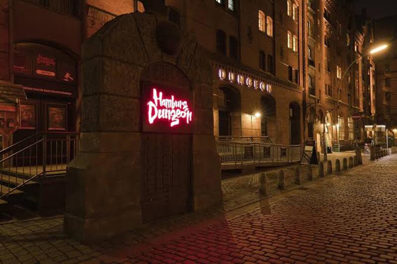 Fachada do Hamburg Dungeon