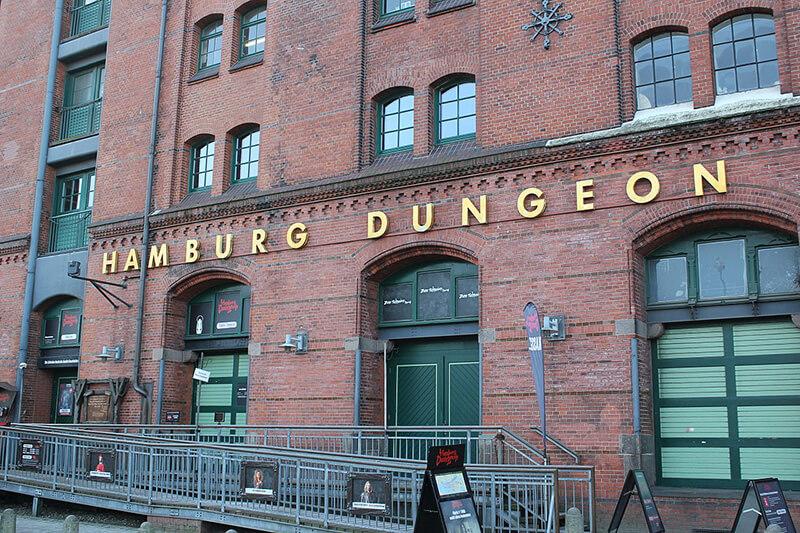 Prédio do Hamburg Dungeon