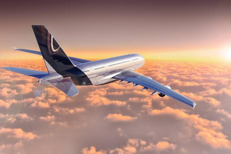 Avião na Alemanha