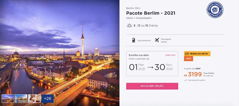 Pacote Hurb para Berlim